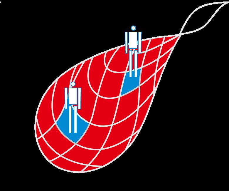 ロゴコンセプト・信頼の青